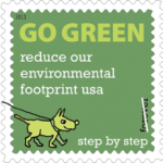 image of green stamp